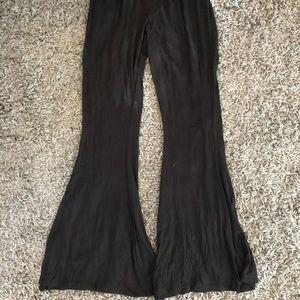 Black fare leggings